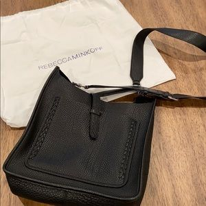 Rebecca Minkoff   Unlined Feed Bag with Whipstich